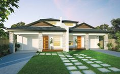 Builders of single and double storey homes, town houses and medium density housing in Victoria, South Australia, New South Wales and Queensland. Home Design, Duplex Design, Design Ideas, Simonds Homes, Bedroom With Ensuite, Master Bedroom, Storey Homes, Study Areas, Ground Floor