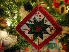 folded star ornament photo