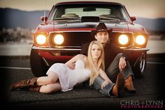 this would be a great photo Jake & I could do only if we had that car lol