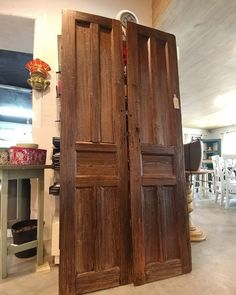 Available Salvaged and repurposed Mexican doors from the 1800s ready to be installed in your home & Mexican Farmhouse Antique Double Doors . Found at Barrio Antiguo in ...