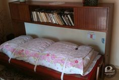 skladany tapczanik. Good Old Times, Warsaw, Bunk Beds, Childhood Memories, Grandmothers, Retro, Humor, Furniture, Photography