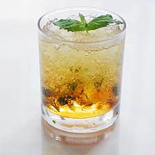 I want to be an old Southern lady and drink mint juleps.