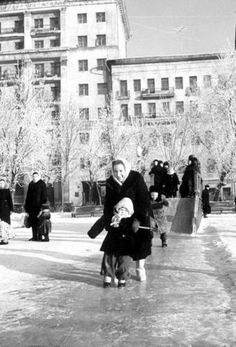 Moscow Soviet times.