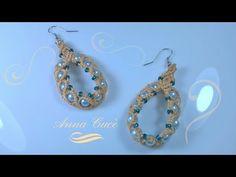 """Tutorial macrame earrings """" Denise """"/ Diy tutorial - YouTube"""