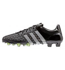 sale retailer 91d68 f93ba Botas de Futbol Adidas Ace 15.1 Sinteticas FG AG Negra-Gris