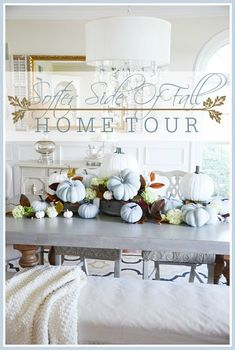 SOFTER SIDE OF FALL HOME TOUR, PART 1 - StoneGable