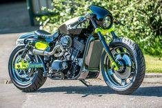 Harley Davidson Street 750 By Shaw Speed And Custom #motorcycles #caferacer #motos | caferacerpasion.com #harleydavidsonstreet750bobber
