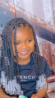 Little Girl Box Braids, Little Girl Braid Styles, Kids Box Braids, Little Girl Braid Hairstyles, Big Box Braids Hairstyles, Braids Hairstyles Pictures, Black Kids Hairstyles, Black Girl Braids, Kids Braided Hairstyles