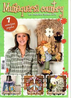 - Marcia M - Álbuns da web do Picasa Book Crafts, Felt Crafts, Crafts To Make, Arts And Crafts, Craft Books, Sewing Magazines, Picasa Web Albums, Country Crafts, Arte Country