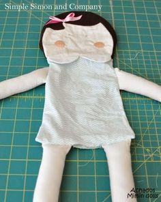 Mimin Dolls: Menina meiga- tutorial