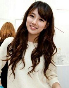 眼妝。膚色。髮型。髮色。Bae Suzy miss A kpop idol k-pop