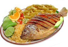 "OMG I want a COLOMBIAN ""Mojarra Frita"" it is delicious."
