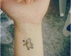 A Winnie the Pooh tattoo... But maybe without color
