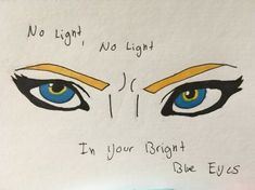 No Light, No Light by Asikaia-blueblood