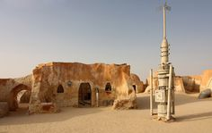 Tunisia is a place of multiple Star Wars filming locations - you can visit Tatooine, see Mos Espa, Mos Eisley, Luke Skywalker's house and the old Obi-Wan Kenobi's house, along with the other epic scene locations.