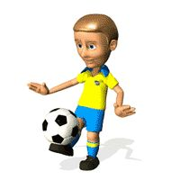 """Desgarga gratis los mejores gifs animados de jugadores de fútbol. Imágenes animadas de jugadores de fútbol y más gifs animados como ángeles, gracias, animales o nombres"""""""