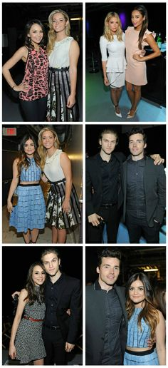 #PrettyLittleLiars Cast attending the Pretty Little Liars PaleyFest 2014