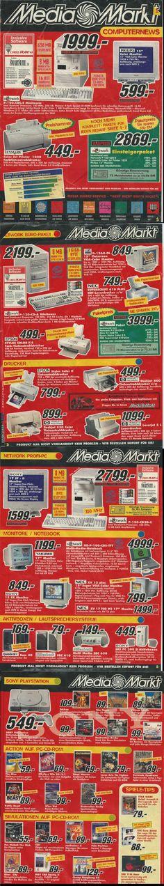 Dieser Media-Markt-Prospekt aus den 90ern wird Dich so nostalgisch machen