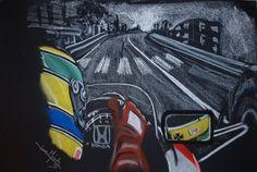 Ayrton Senna on board Monaco 89 by JuanCMendez