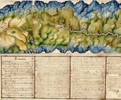 Manuscript Map of Dagua River Region, Colombia