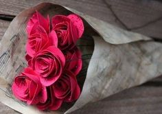 How To Make Gorgeous Paper Roses Perfect For Bouquets   The WHOot