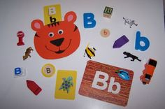 Letter Bb - What's on the Tray?