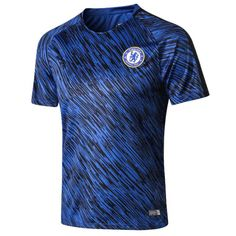 Chelsea Training Jersey Shirt 2018 Blue Cheap 18 19 Football kits on  Goaljerseyshop.com 9f16eb24d