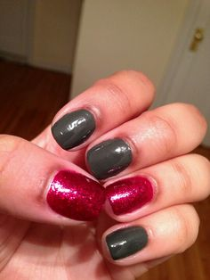 Holiday nails - Leading Lady & Power Clutch