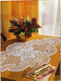 SANDRA CROCHE: Caminho de mesa