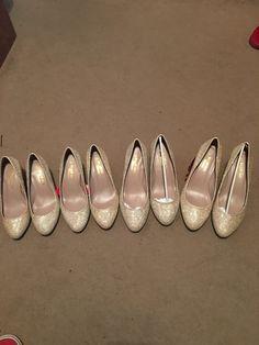 Bargain bridesmaid shoes found for £8 a pair!!