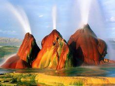 Nature 5 Black Rock Desert, Nevada, Amazing Photography, The Incredibles, Nature, World, Deserts, Painting, Waterfall