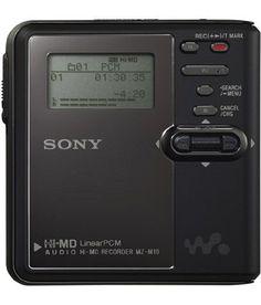 MiniDisc Sony MZM10 - www.remix-numerisation.fr - Capture Transfert Numérisation et sauvegarde durable d'enregistrements Audio et Vidéo - Rendez vos souvenirs durables