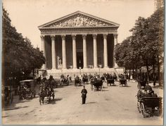 Ed. X. Phot. France, Paris, Eglise de la Madeleine     #Europe #France