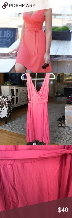 Pepperberry/Bravissimo Wrap Sundress Pepperberry Pink Wrap Sundress, size 10. (I'm usually a size 4 waist but have 34DDD and this fit perfectly.) Best for curvy girls. It's slightly worn out but still in good condition. Really cute, great for summer parties and just going out. Can be casual or dressed up. Pepperberry Dresses