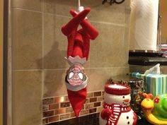 Elf on a Shelf  - Incognito as his favorite superhero