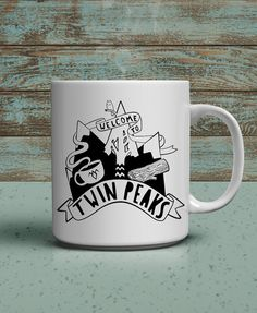 Have you visited Twin Peaks? Perhaps in your mind? Well now show you took the trip, that you are a fan and get a little nod from fellow fans when they
