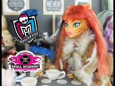 Doll Videos with the Original Monster High Dolls in Skull Academy s03 e07