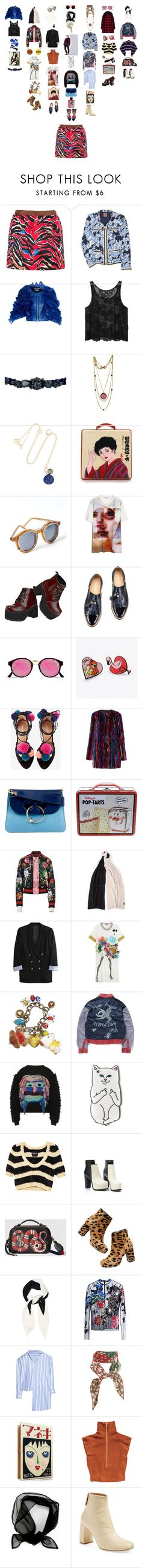 """Untitled #2171"" by duumbblond ❤ liked on Polyvore featuring Balenciaga, Tory Burch, Junya Watanabe, Monki, Shourouk, Melissa Joy Manning, Olympia Le-Tan, Spitfire, Givenchy and T.U.K."