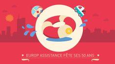 50 ANS EUROP ASSISTANCE EN MOTION DESIGN. Nous avons réalisé ce film pour Europ Assistance qui fête ses 50 ans cette année. Il retrace 50 an...