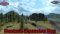 Tested on game version Williston North Dakota, Miles City, Big Sandy, Flathead Lake, American Truck Simulator, Oil Storage, Great Falls, Sierra Nevada, New City