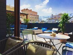 La terrasse de l'hôtel Gallery à Barcelone