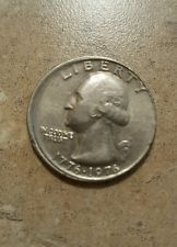 1976 Bicentennial Washington Quarter Broadstruck?strike  Error coin coins