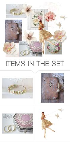 """""""Passion for Pink"""" by frenchpapermoon ❤ liked on Polyvore featuring art and vintage"""