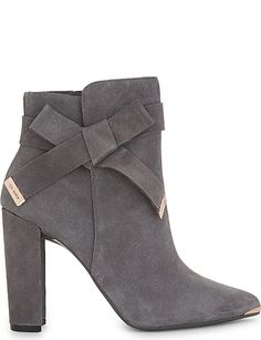 a8922e5101ba TED BAKER Sailly suede ankle boots Ted Baker Shoes