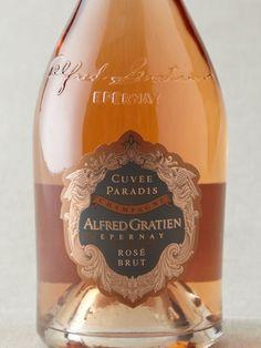 Alfred Gratien  Cuvée Paradis Brut Rosé Champagne NV, THE finest champagne I have ever drunk!