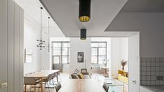 Barcelona flat by Bonba Studio La luminosité à l'honneur !    #lumiere #home #flat #decoration #fenetre #design #interior #white #