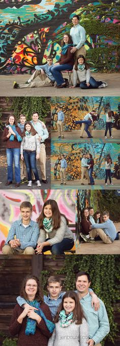 Charlottesville Family Portraits at the Art Park - Jen Boutet Photography
