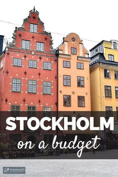 Most people don't choose to visit Stockholm if you have a very tight budget or need a lot of cheap options. It's too expensive, at least that's what most people would say. But there are ways to visit Stockholm on a Budget and I'm going to tell you how | The Planet D Adventure Travel Blog
