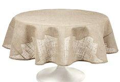 Couleur Nature Burlap Natural Tablecloth, 70-Inch Couleur Nature http://www.amazon.com/dp/B0094DL5Q2/ref=cm_sw_r_pi_dp_LsWqvb1YXYC7Z