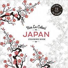 Amazon Vive Le Color Japan Adult Coloring Book